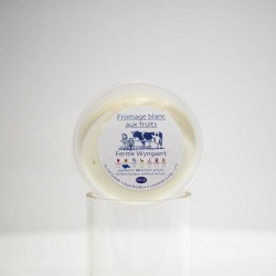 Fromage blanc aux abricots