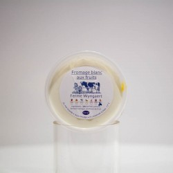 Fromage blanc aux pêches